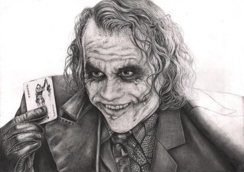 'The Joker' Nearly complete WIP by Pen-Tacular-Artist