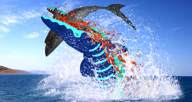 (People of the Water) Tylosaurus by Artapon
