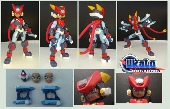 Sh Figuarts Grey custom figure by Gregarlink10