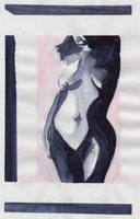 nude watercolor sketch by coldtaxi-productions