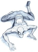 Spidey Sketch by FrostedIcefire