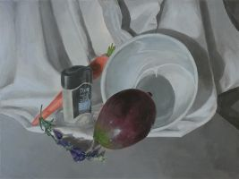 Classwork - Another Still Life by Klecktacular