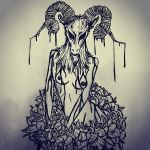 Quick sketch by cabins