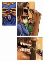 snickers ad storyboard 4 by kwee85