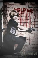 Leon S kennedy from resident evil 4 cosplay by faisaluzumaki
