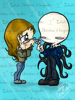 REQUEST Slenderman and accailia118 REQUEST by I3-byUsagi
