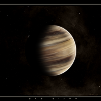 gas giant by istarlome