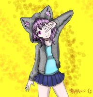 Nyaa~~ by SC2Battousai