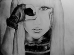 Draw Lady gaga by juststyleJByKUDAI