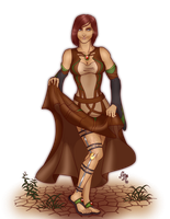Commission: Marielena by MischiArt