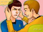 kirk and spock by queenkong13