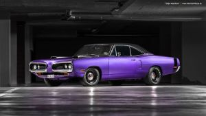 Plum Crazy 1970 Dodge Coronet - Shot 6 by AmericanMuscle