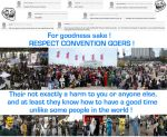 Respect Convention Goers by DoctorWhoOne