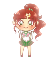 senshi set: sailor jupiter by chu-wi