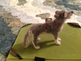 Wool gray wolf by Lupineleigh
