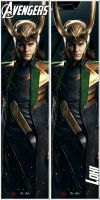 Loki bookmark by Acu91