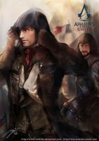 Assassin's creed unity unfinished by Brilcrist