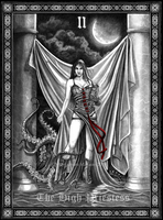 Tarot: The High Priestess by Doberlady