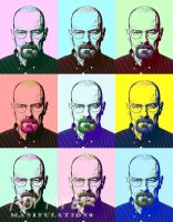 Breaking Bad: Walter: Warhol Re-Edit by nerdboy69
