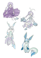 Glaceon TF by Luxianne