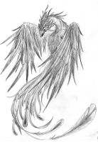 Pheonix Sketch by XnoxdeaX