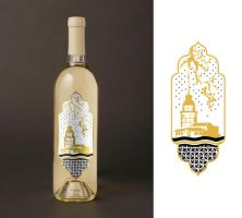 wine label by selin-unal