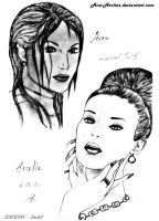 20101006  The Queens of RE5 by Ana-Archer
