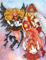 Let the Sailor Sun Collab begin! by nickyflamingo