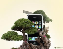 Iphone nature edition by DesignPot