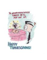 Gir popping out of Turkey by LianZx