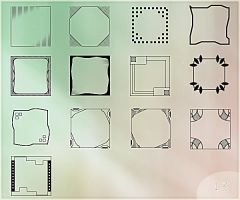 Templates for avatars 100px by Morfuska