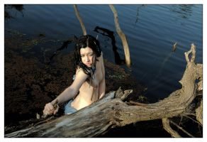 Naiad bereft 1 by wildplaces