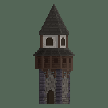 Medieval Watch Tower by Kingkersharks