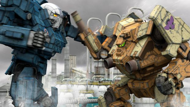 MechWarrior Online Awesome Scenes by MWOBronx