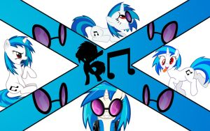 Vinyl Scratch / DJ Pon3 (wallpaper number 18) by axelrules1231