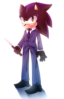 Spy Hedgehog by Eri-Yo