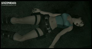 Lara Croft- Poison Gas Atack!! 4 by Schizophreak3D