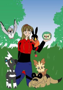 My Pokemon White Team by Vye-Brante