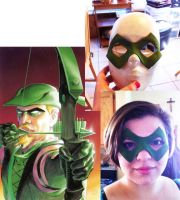 Green Arrow Mask by zutara-canon