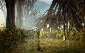 Swampy Grove by angelic-jean