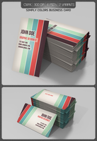 Simply Colors Business Card by kotulsky