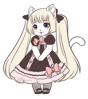 pretty kitty by LittleMacarons