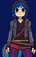 Ramona Flowers 2 Colored by RockSpam14