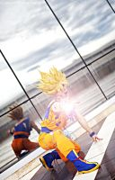 Goku cosplay .:I will never surrender!:. by Alexcloudsquall
