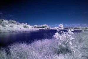 Infrared Lake 2 by The-Rover