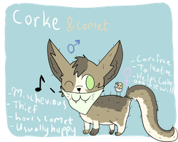 Corke Reference Sheet by StarIit