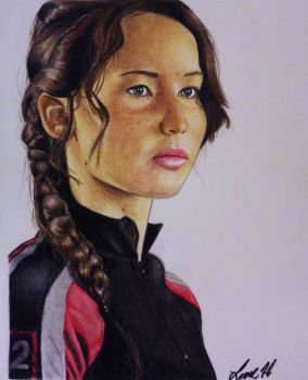 The Hunger Games - Katniss by laart39