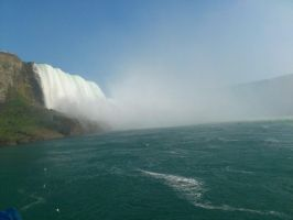 The Niagara Falls 3 by Hedwigs-art