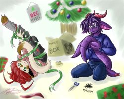 Tangled gift wrapers by avencri