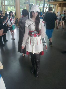 Desucon 2014 - Assasins Creed female cosplay by FinnishLegend